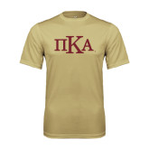 Performance Vegas Gold Tee-Official Greek Letters