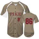 Replica Vegas Gold Adult Baseball Jersey-Pike