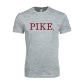 Next Level SoftStyle Heather Grey T Shirt-PIKE