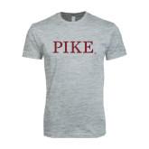 Next Level SoftStyle Heather Grey T Shirt-PIKE