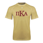 Under Armour Vegas Gold Tech Tee-Official Greek Letters