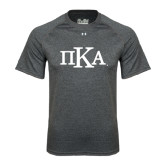 Under Armour Carbon Heather Tech Tee-Official Greek Letters