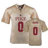 Replica Vegas Gold Adult Football Jersey-Personalized