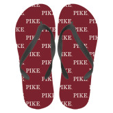 Full Color Flip Flops-PIKE