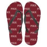 Full Color Flip Flops-PIKE