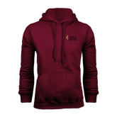 Maroon Fleece Hoodie-PIKE University