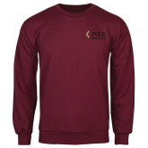 Maroon Fleece Crew-PIKE University