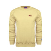 Champion Vegas Gold Fleece Crew-Official Greek Letters
