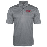 Nike Golf Dri Fit Charcoal Heather Polo-Official Greek Letters