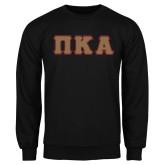 Black Fleece Crew-Greek Letters Tackle Twill