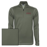 Nike Sphere Dry 1/4 Zip Olive Khaki Cover Up-PIKE