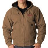 DRI DUCK Cheyenne Field Khaki Hooded Jacket-Official Greek Letters