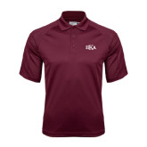 Maroon Dri Mesh Pro Polo-Official Greek Letters