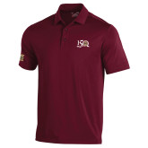 Under Armour Maroon Performance Polo-150 Years