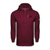Under Armour Maroon Performance Sweats Team Hood-PIKE University