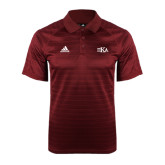 Adidas Climalite Cardinal Jaquard Select Polo-Official Greek Letters
