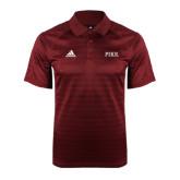 Adidas Climalite Cardinal Jaquard Select Polo-PIKE