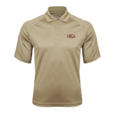Vegas Gold Textured Saddle Shoulder Polo-Official Greek Letters