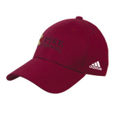 Adidas Maroon Structured Adjustable Hat-PIKE University