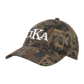 Oilfield Camo Structured Hat-Official Greek Letters