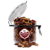 Deluxe Nut Medley Round Canister-Official Greek Letters