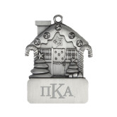 Pewter House Ornament-Official Greek Letters Engraved