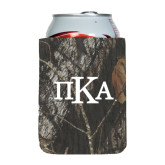 Collapsible Mossy Oak Camo Can Holder-Official Greek Letters