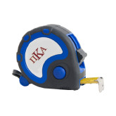 Frontier Locking Blue 25 Ft. Tape Measure-Official Greek Letters