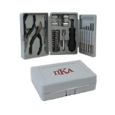 Compact 26 Piece Deluxe Tool Kit-Official Greek Letters