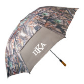 58 Inch Hunt Valley Camo Umbrella-Official Greek Letters
