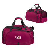 Challenger Team Maroon Sport Bag-150 Years