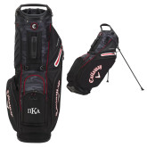 Callaway Hyper Lite 5 Camo Stand Bag-Official Greek Letters