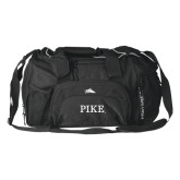 High Sierra Black Switch Blade Duffel-PIKE