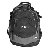 High Sierra Black Fat Boy Day Pack-PIKE