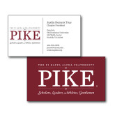 Chapter Business Cards-