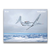 24 x 18 Poster-PC-24 Over Snowy Mountains