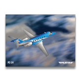 24 x 18 Poster-PC-24 Over Blurry Mountains