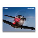 24 x 18 Poster-PC-12 NG Propeller Close Up