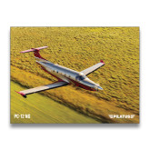 24 x 18 Poster-PC-12 NG Over Blurry Field