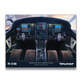 24 x 18 Poster-PC-12 NG Cockpit View