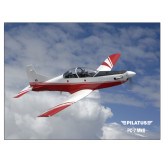 24 x 18 Poster-PC-7 MKII Over Clouds