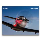 24 x 36 Poster-PC-12 NG Propeller Close Up