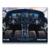 24 x 36 Poster-PC-12 NG Cockpit View