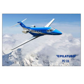 24 x 36 Poster-PC-24 Over Snowy Mtns