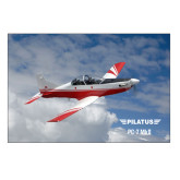 5 x 7 Photographic Print-PC-7 MKII Over Clouds
