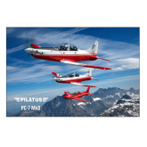5 x 7 Photographic Print-PC-7 MKII 3 Aircrafts