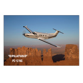 5 x 7 Photographic Print-PC-12 NG Over Block Mtns