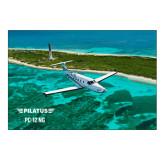 5 x 7 Photographic Print-PC-12 NG Island Shore