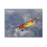 8 x 10 Photographic Print-PC-6 Over Snowy Mountains