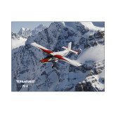 8 x 10 Photographic Print-PC-6 Over Snowy Cliff